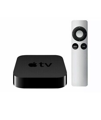 Apple TV 3rd generation 2012 MD199LL/A With Original Remote And Power Cord A1427