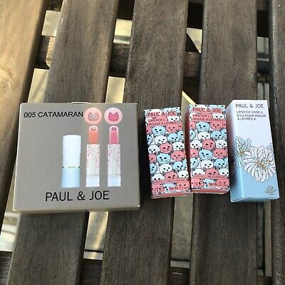 Paul And Joe Catamaran Limited Edition Lipstick*2