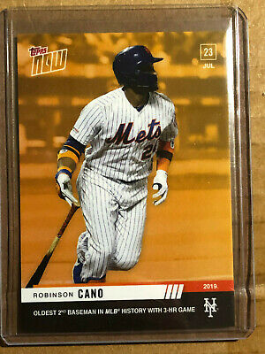 2019 Topps NOW ODB-28 Robinson Cano New York Mets [7.23.19] ~ PR 306