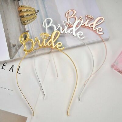 1Pcs Bridesmaid Tiara Crown Bachelorette Hen Party Excellent Nice