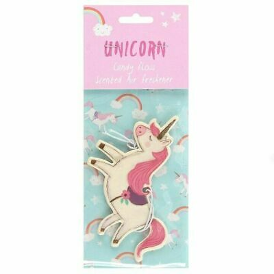 Unicorn Shaped Candy Floss Scented Air Freshener Car, Home, Office