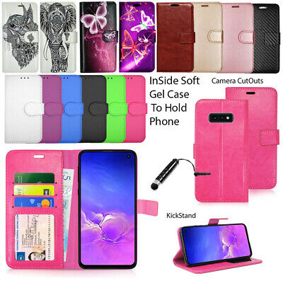 For Samsung Galaxy S10e SM-G970F Phone Case Wallet Leather Cover Flip Book Stand
