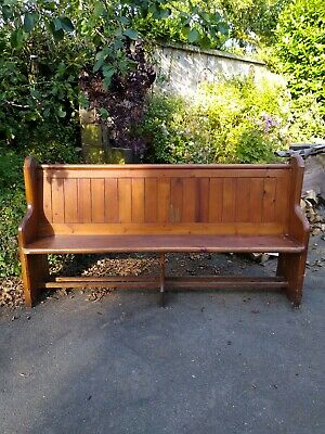 6ft Church Pews from Cornish church on Bodmin Moor