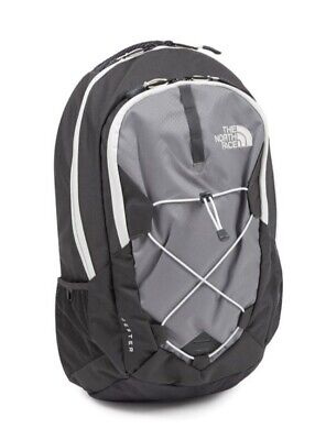 NEW The North Face Backpack Jester Zinc Grey Vaporous Grey 26L Laptop Sleeve