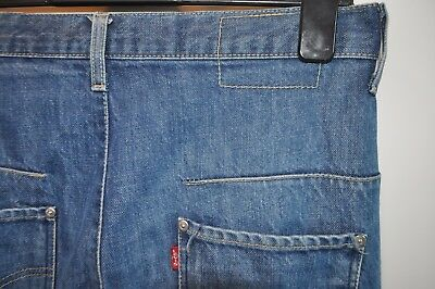 Vintage Levis engineered blue jeans W 30 L 30 red tab button fly