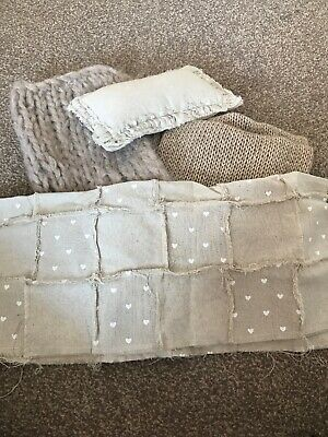 Soft Woolwn Wrap And Posing Set - Newborn Photography Prop In Beige