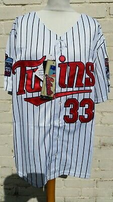 """Minnesota Twins MLB Authentic Collection XL Baseball Jersey New With Tags 48"""""""