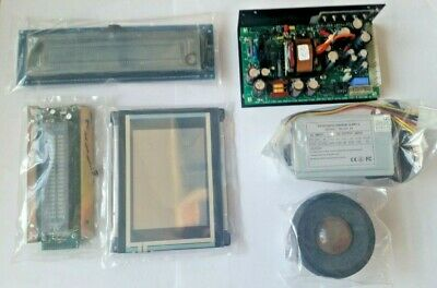 Assortment Of Electronic Components, Screens, Power Supplies And Roller Ball