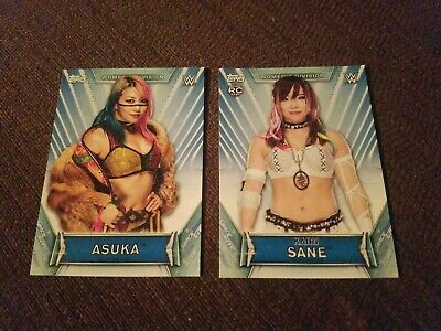 2019 Topps WWE Womens Division  asuka and kairi sane