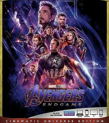 Avengers:endgame(4K Ultra Only) Read Description