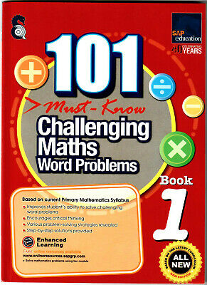 SAP Education 101 Must Know Challenging Maths Word Problems 1 - AU Year 1 Year 2