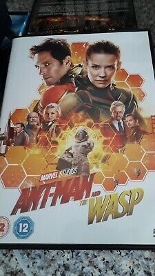 Ant-Man And The Wasp DVD Used  Purchased New