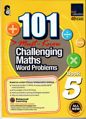 SAP Education 101 Must Know Challenging Maths Word Problems 5 - AU Year 5 Year 6