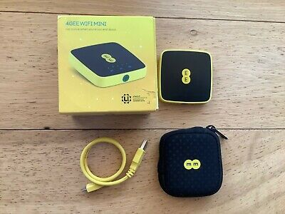 4GEE Wifi Mini EE40VB 3G/4G Mobile Broadband Wifi Hotspot~GOOD WORKING ORDER