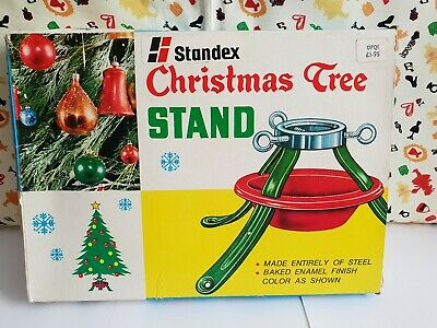 Vintage Standex Christmas Tree Stand in Box