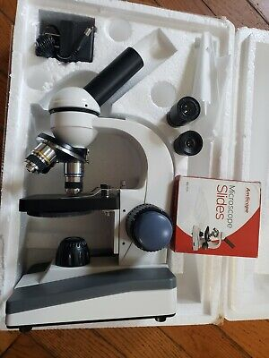 AmScope 40X-1000X All-Metal Optical Lens Compound Microscope M150c