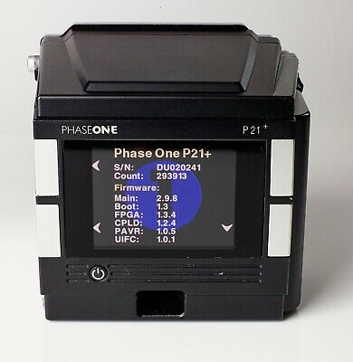 Phase One P21+ Medium Format Digital Back Hasselblad V-fit Phase One P21+
