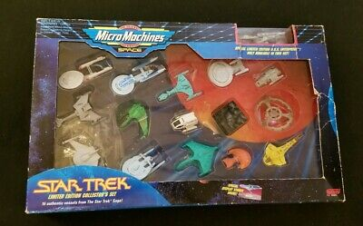 Galoob Micro Machines Star Trek Limited Edition Collector's Set with 16 Vessels