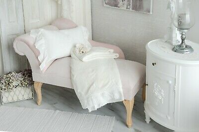 CHAISELONGUE SOFA RECAMIERE Couch Sessel Shabby Chic Vintage ...