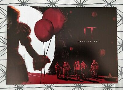 IT Chapter Two ODEON A4 Poster 2 of 2: Stephen King, Pennywise
