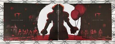 IT Chapter Two ODEON A4 BOTH Posters Poster 1 & 2 FULL SET: Pennywise