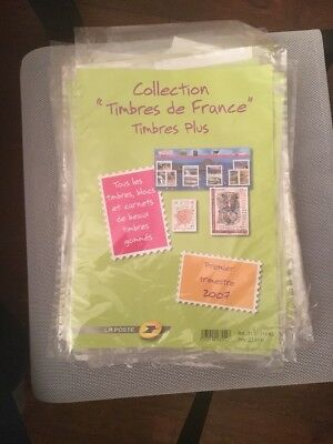 2ème Trimestre 2006 Pochette Collection timbres France Plus Blocs Carnets gommés