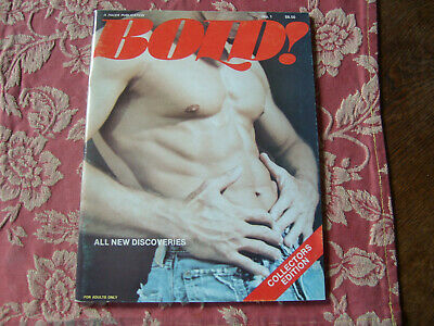 "Gay  Vintage Magazin  "" Bold ""  Top Zustand 1976"