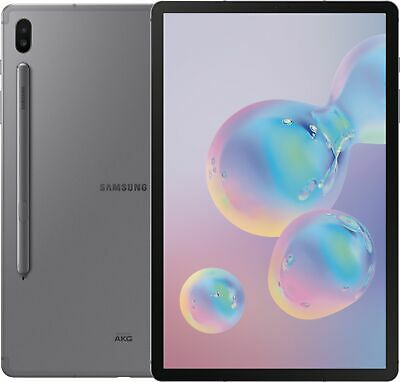 """Open-Box Excellent: Samsung - Galaxy Tab S6 - 10.5"""" - 128GB - Mountain Gray"""