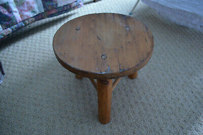 vintage milking stool, chair, plant holder, pot stand