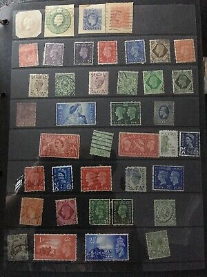 Stamp Collection...Mixture Of Stamps From Across The World