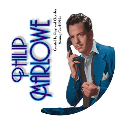 ADVENTURES OF PHILIP MARLOWE - 105 Shows Old Time Radio In MP3 Format OTR on DVD