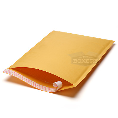 Kraft Bubble Mailers Paper Exterior Shipping Envelopes All Sizes - The Boxery