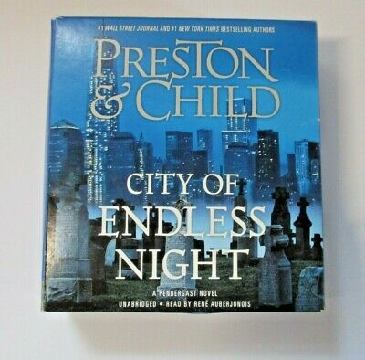Agent Pendergast: City of Endless Night by Douglas Preston and Lincoln Child