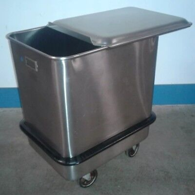 SECO Commercial Stainless Steel, Food Safe, Flour / Ingredient Rolling Bin.