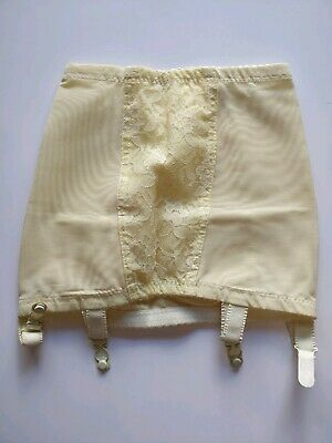 Vintage Yellow Girdle, Small 1960s