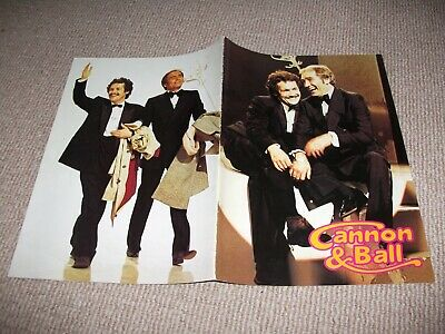 Cannon & Ball tour theatre brochure #2 (1980's, Bobby Ball, Tommy Cannon)