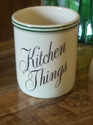 """T G.Green LTD Church Gresley Made In England Kitchen Things Crock 5 1/2"""""""