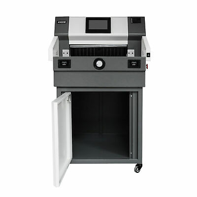 """19.3"""" 490mm Automatic Electric Paper Cutter Cutting Machine Power-off protection"""
