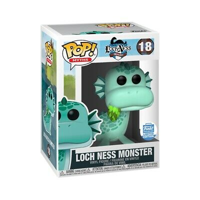 Funko Pop Myths #18 Loch Ness Monster Funko Shop Limited Edition IN HAND