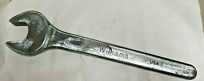 """Williams 1 7/8"""" wrench * Heavy Duty 18"""" Long * Part # BW-11A * Made in USA"""
