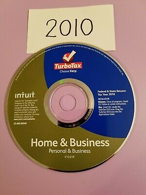 Intuit TurboTax Deluxe 2010 - Federal & State E-file Licenses - Tax Preparation…