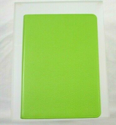 """Graphic Image Travel Writing Journal Leather Softcover 5x7"""" Lined Pages Green"""