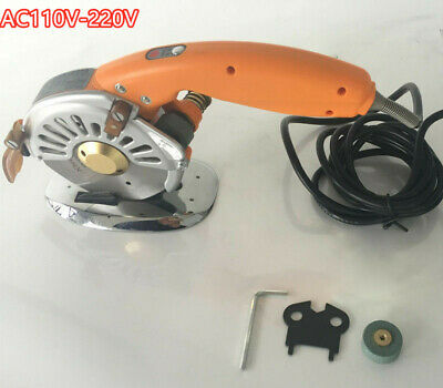 Servo Direct Drive Electric Circular Knife Cutter Cloth Fabric Cutting Tool