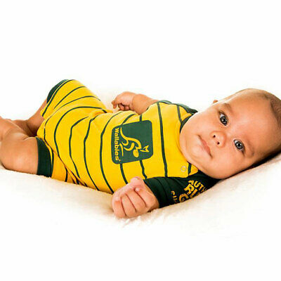 Wallabies Baby Coverall / Romper - Sizes 000 - 1