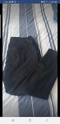 Soon Maternity Black Jeans Size 18 Excellent Condition