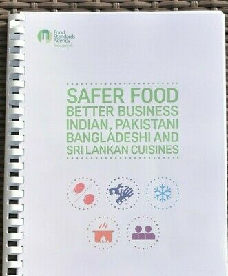 2019 Safer Food Better Business Indian Caterers Pack + 13 Month Diary Full Pack