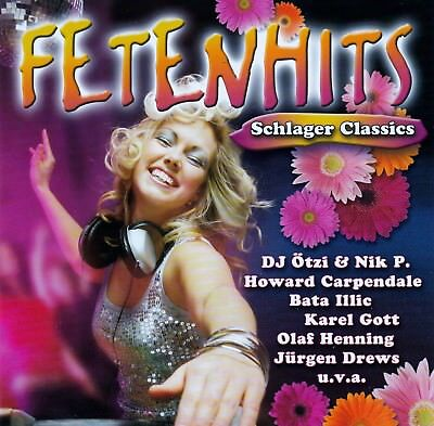 Fetenhits - Schlager Classics / Cd - Top-Zustand