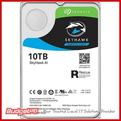 "SkyHawk Surveillance AI HDD 3.5"" 10TB SATA 6 Gb/s, 16 AI streams, 7200RPM, 256MB"