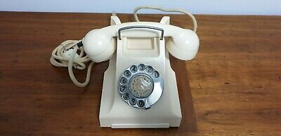 400 Series Ivory White Dial Phone