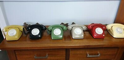 8021 series telephone set x 6 in excellent condition